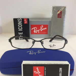 Ray Ban RB 8686 1000 Black Eyeglasses